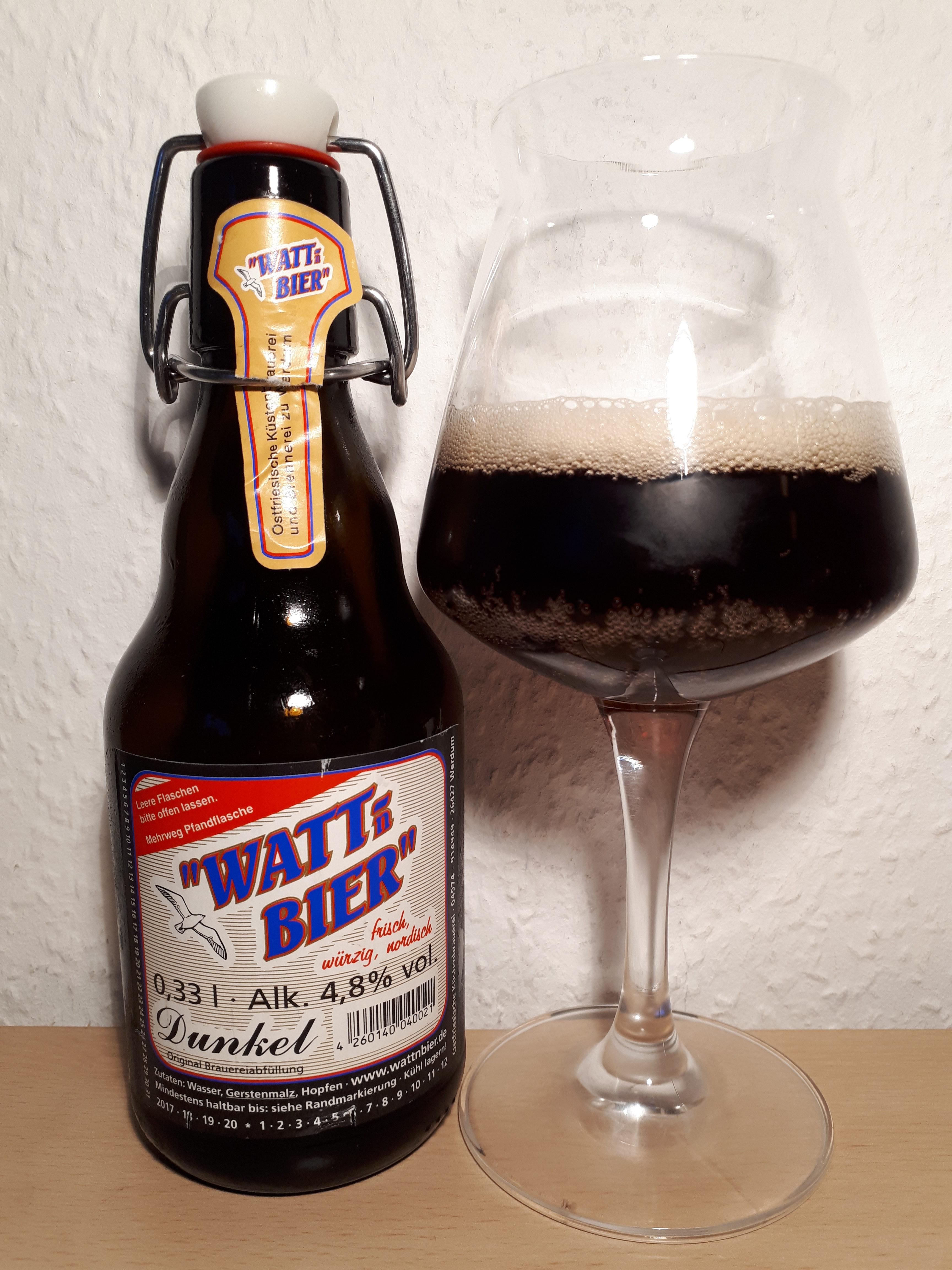 343 k stenbrauerei zu werdum watt n bier dunkel bier jubil um. Black Bedroom Furniture Sets. Home Design Ideas